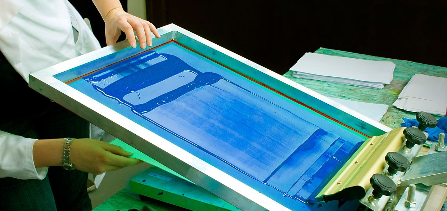 what is screen printing camelot print copy centers